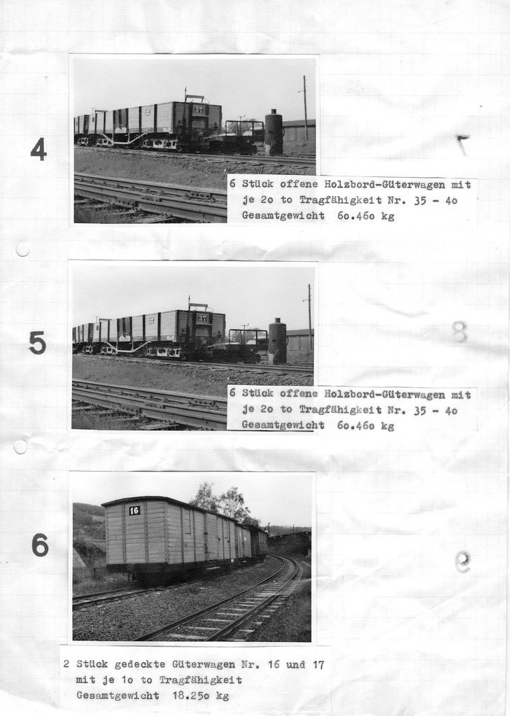 Seite 2 des Verkaufskatalogs, Los 4 u. 5 sing gleich, wohl ein Fehler des Sekretariats