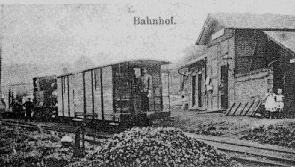 Einer der 5 GGw Güterwagen aus denen der Wagen 19 später entstand
