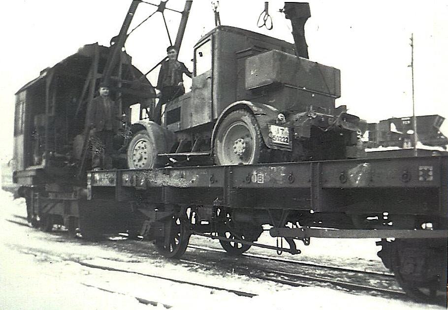 Hanomag SS 55, er zog in den Krieg und kam nicht mehr zur Kerkerbachbahn zurück