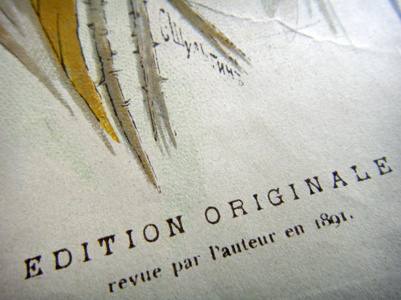 Художник С. Шульгин (подпись) и указание на авторскую редакцию 1891 года