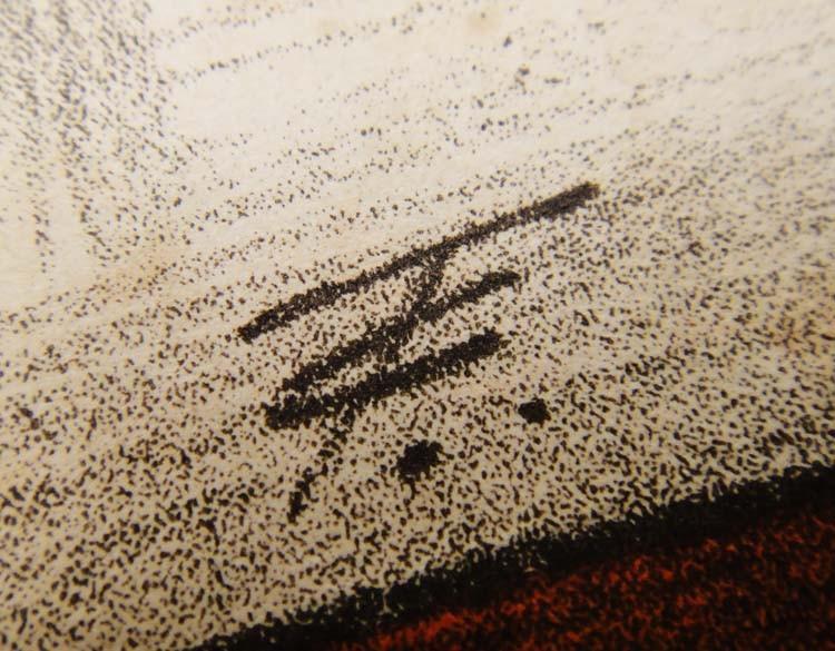 Подпись художника Т. С.