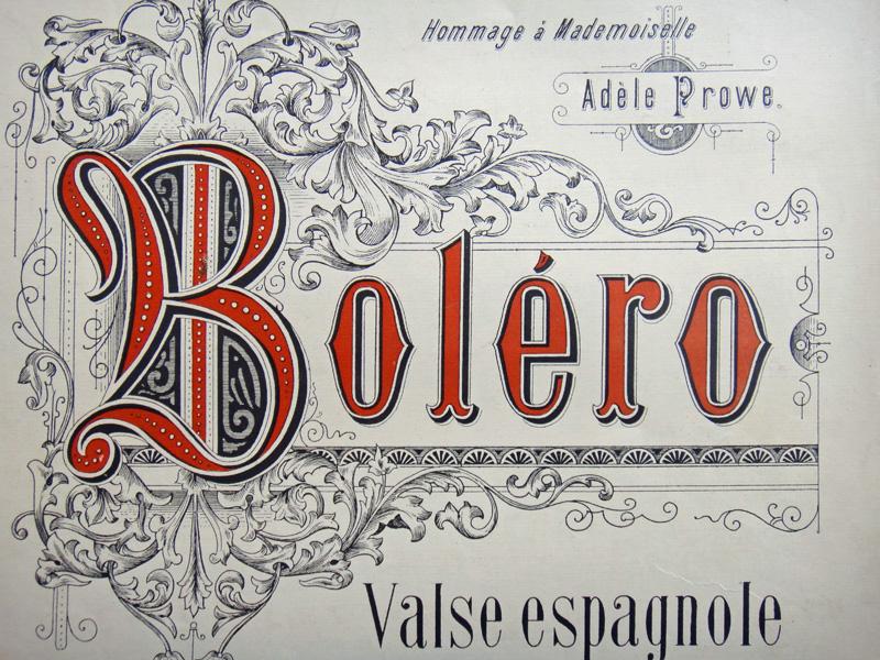Болеро, испанский вальс Ипполита Лабади