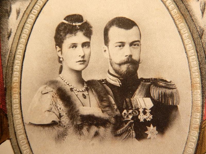 Александра Фёдоровна и Николай Александрович (1894 или 1895)
