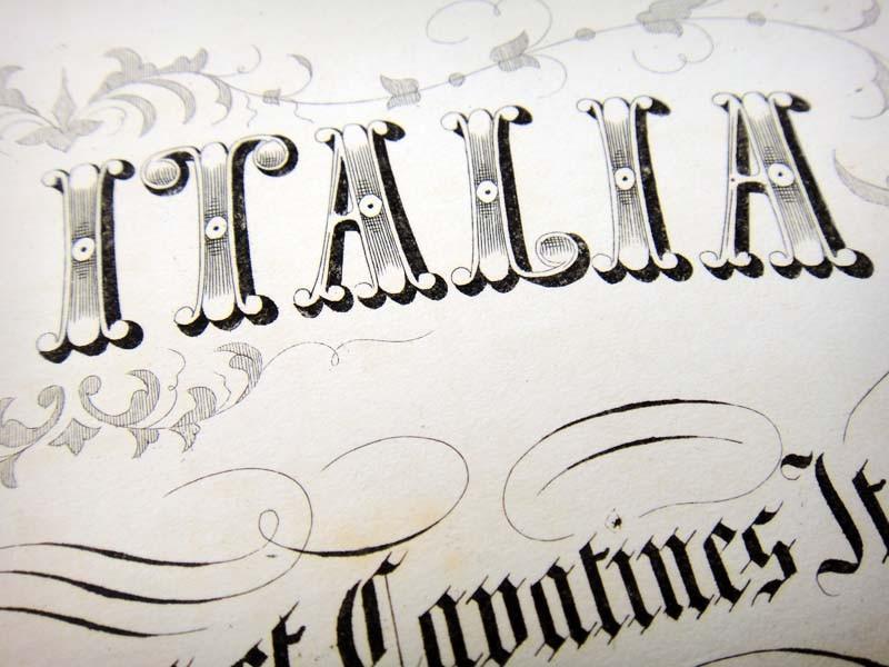 Вручную гравированное издание