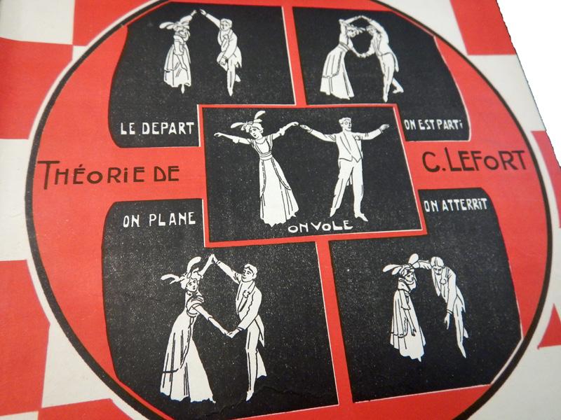 Танец «Аэронет», обложка московского нотного издания 1909—1911 гг.