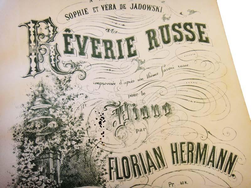 Reverie Russe par Florian Hermann