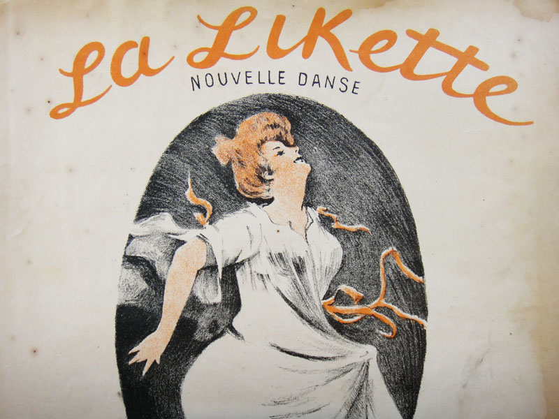 Танцующая парижанка