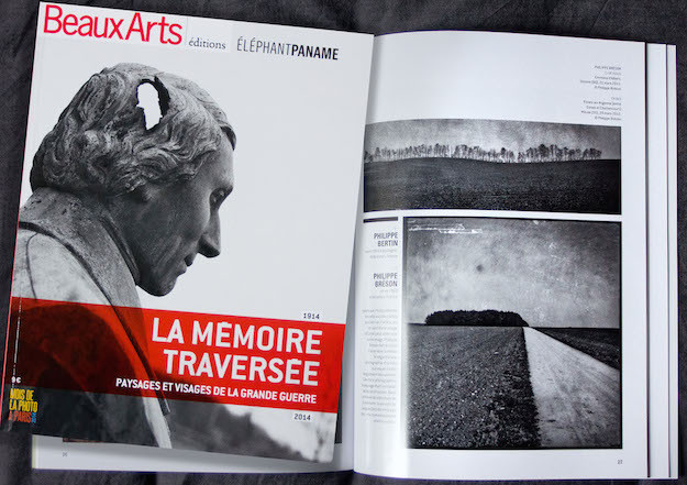 about Mnemosis serie in Beaux Arts Magazine