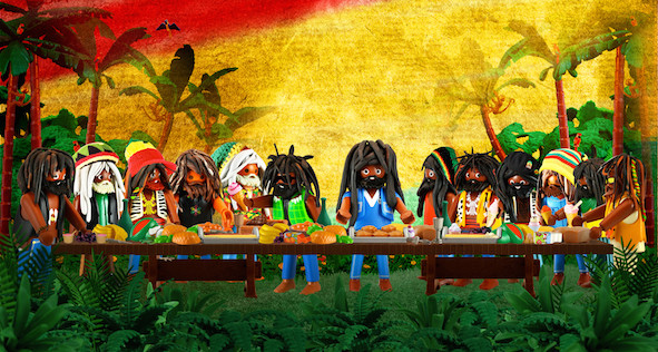 The last supper rasta