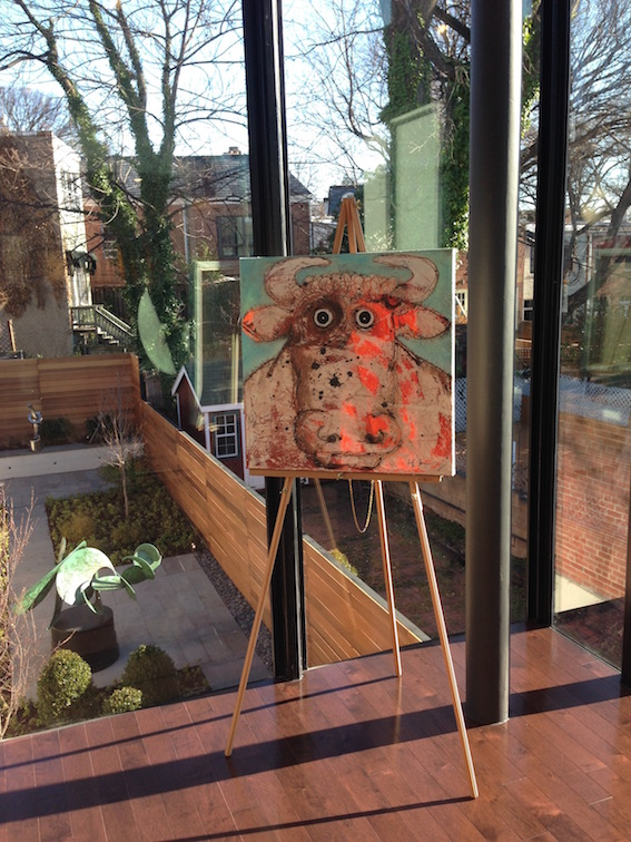 Bête à cornes at Artists Proof Gallery