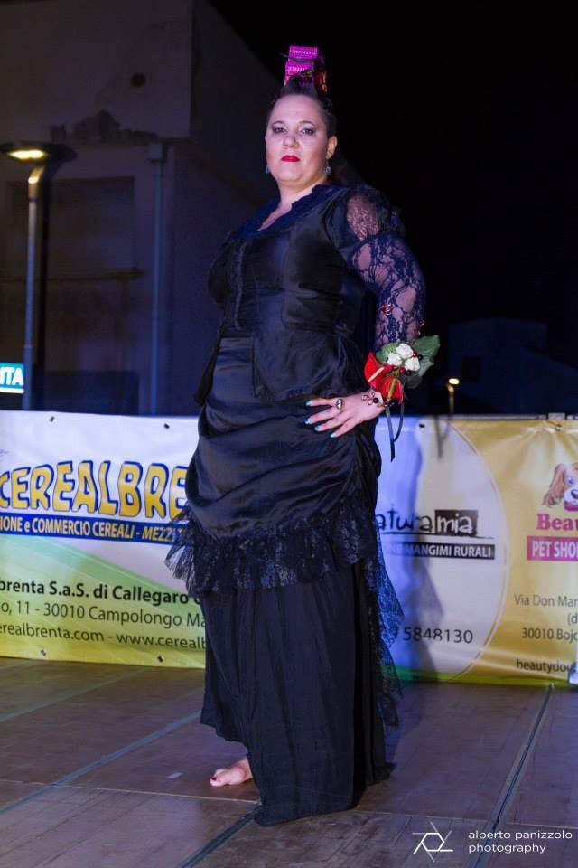 late XIX centrury mourning dress