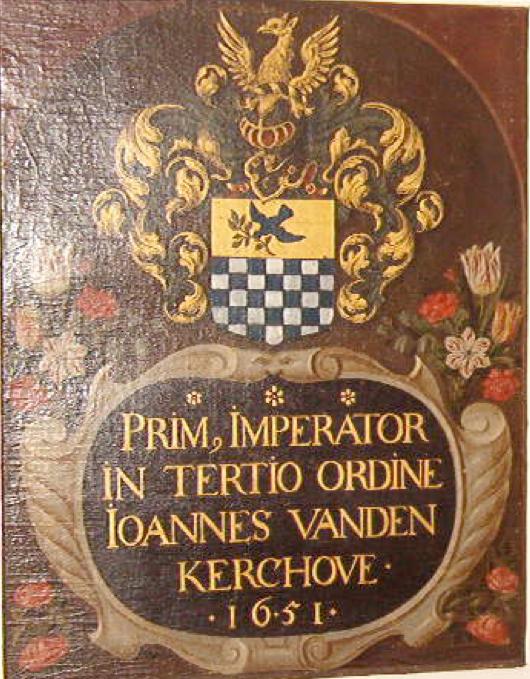 Panneau commémoratif de Jean van den Kerchove  (1651)