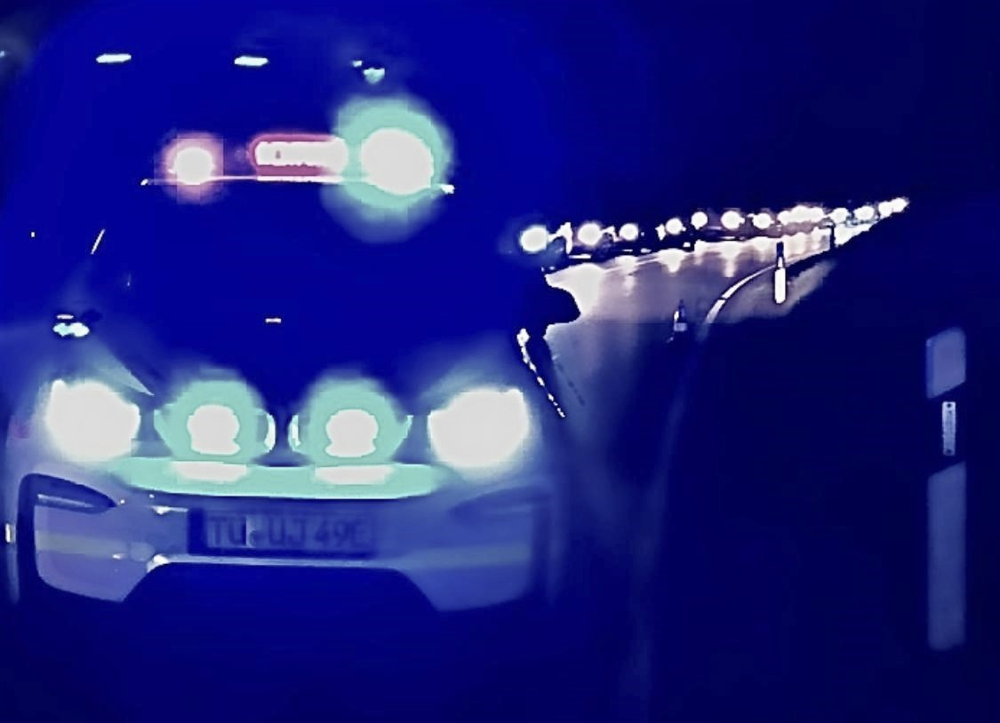 i3 beim Verkehrsunfall