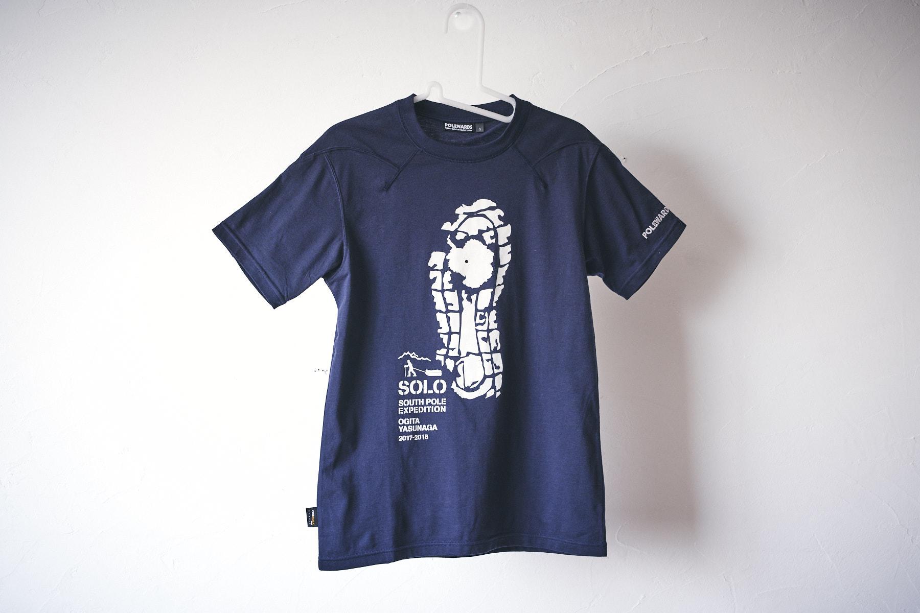 南極点記念Tシャツ