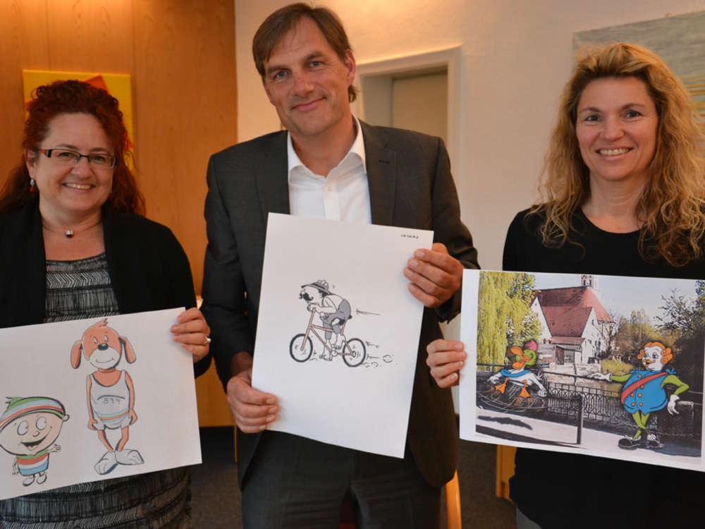 Wer hat den Sieger cartoon gemalt link zum Artikel unten.
