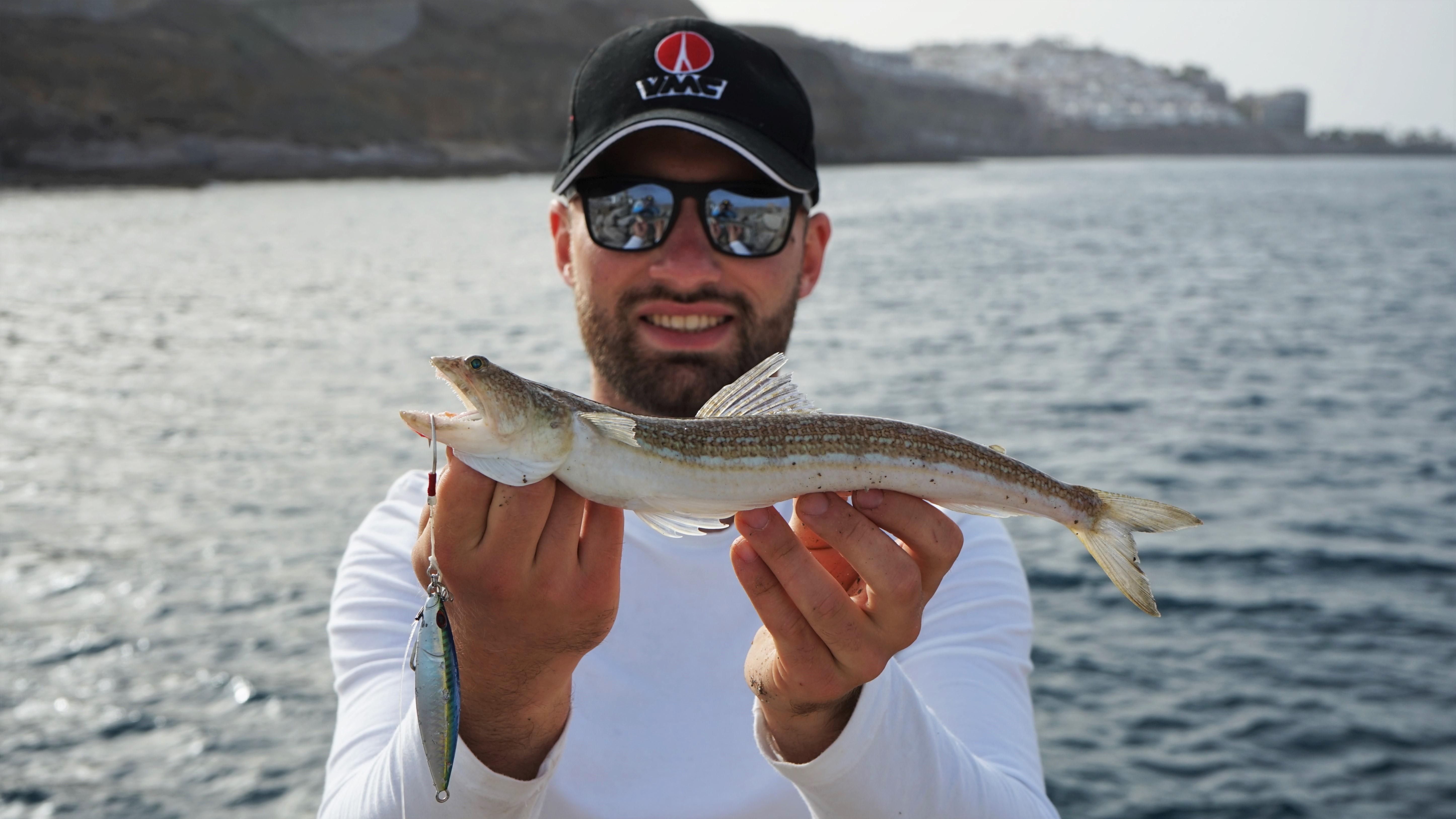 Johannes Höfner | Atlantischer Eidechsenfisch | Synodus saurus | 33cm | Atlantischer Ozean | Spanien | 10. Juni 2021
