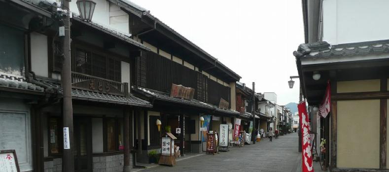 臼杵市中央通り商店街
