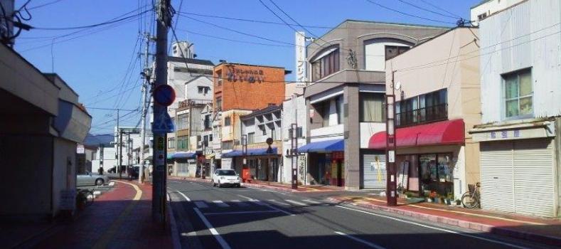 日田市寿通り商店街