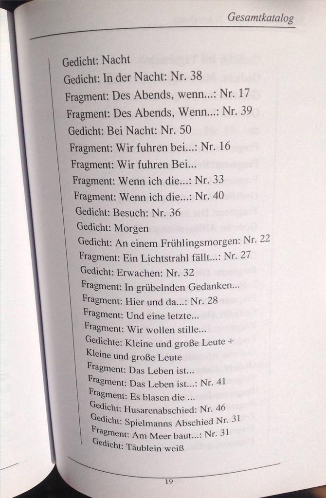 Petra Mettke, Karin Mettke-Schröder/Bibliographie des Schreibens/Broschürefassung/2004/Seite 19