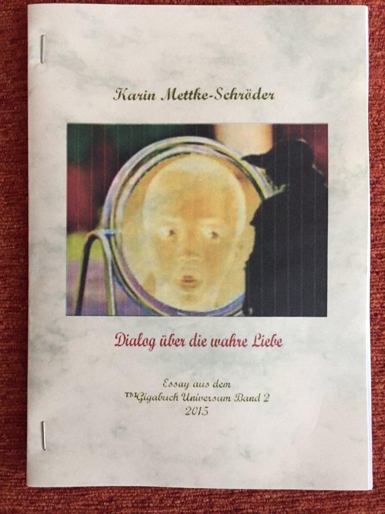 Karin Mettke-Schröder/Dialog über die wahre Liebe/™Gigabuch Universum Band 2/Cover