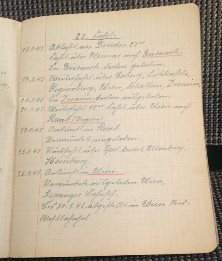 Paul Krause/Kriegtagebuch/Original von 1939/Eintrag ab 15.01.1945