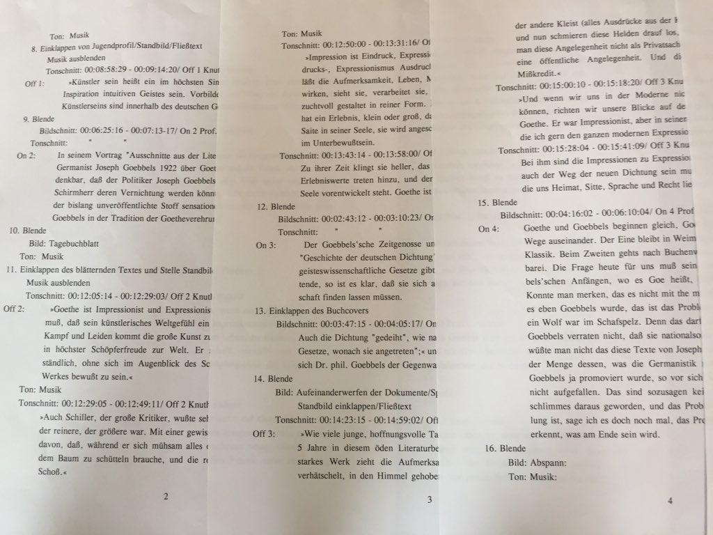Karin Schröder/™Gigabuch Forschung/Drehanweisung für Feature/Seite 2-4