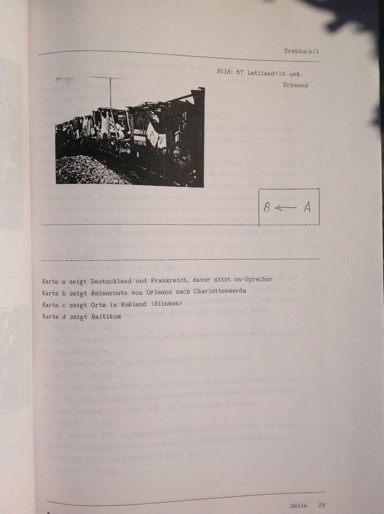 Karin Mettke-Schröder, Petra Mettke/Dokumentarfilmdrehbuchdruck/Paul Krause/Meine ungewollten Reisen/Seite 29