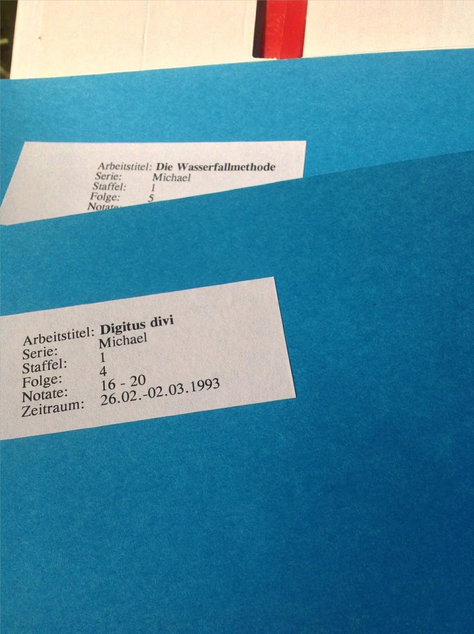Petra Mettke, Karin Mettke-Schröder/StarSerie  Michael/Arbeitstexte/2000/Hefter der Folge