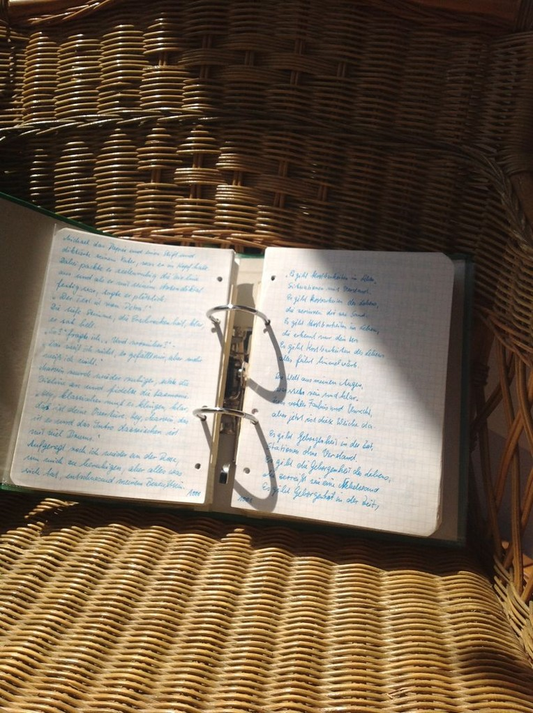 Petra Mettke/Gigabuch Michael 04/Originalordner/1993/Songtext aus dem Notat 179 auf Seite 1001