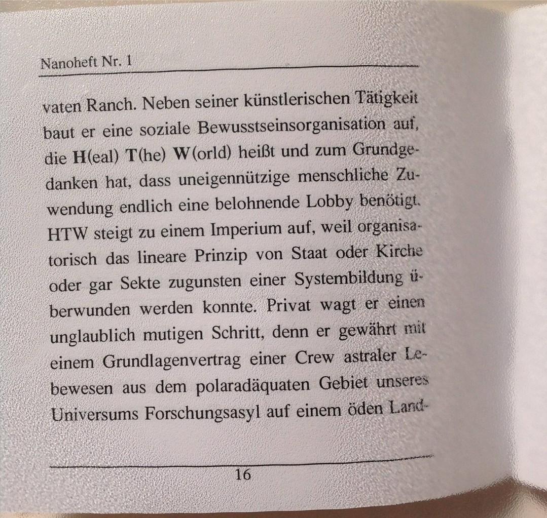 Petra Mettke, Karin Mettke-Schröder/Das Gigabuch Michael/Nanobook Nr. 1/1999/Seiten 16