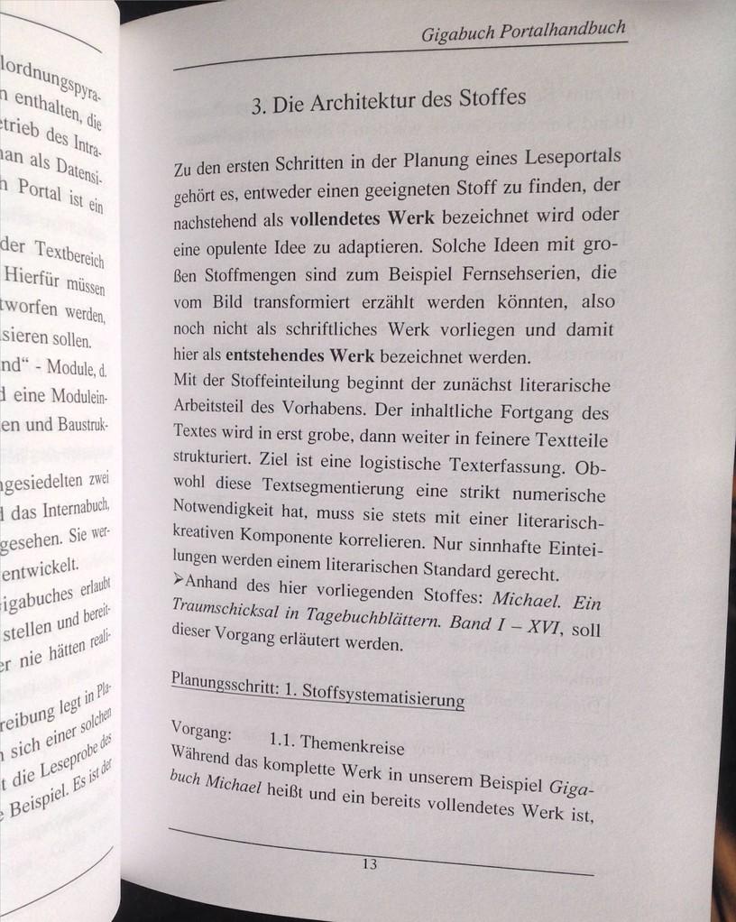 Karin Mettke-Schröder, Petra Mettke/Bau des Gigabuch- Portals/Handbuch 2/2003/Seite 13