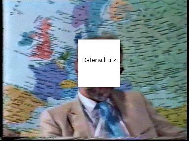 On-Sprecher/Filmausschnitt 1989