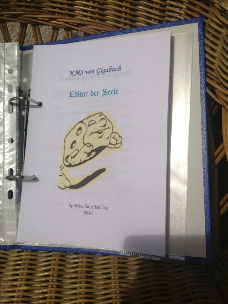 Karin Mettke-Schröder, Petra Mettke/Editor der Seele/Spruchbandskript 5/2010/Deckblatt