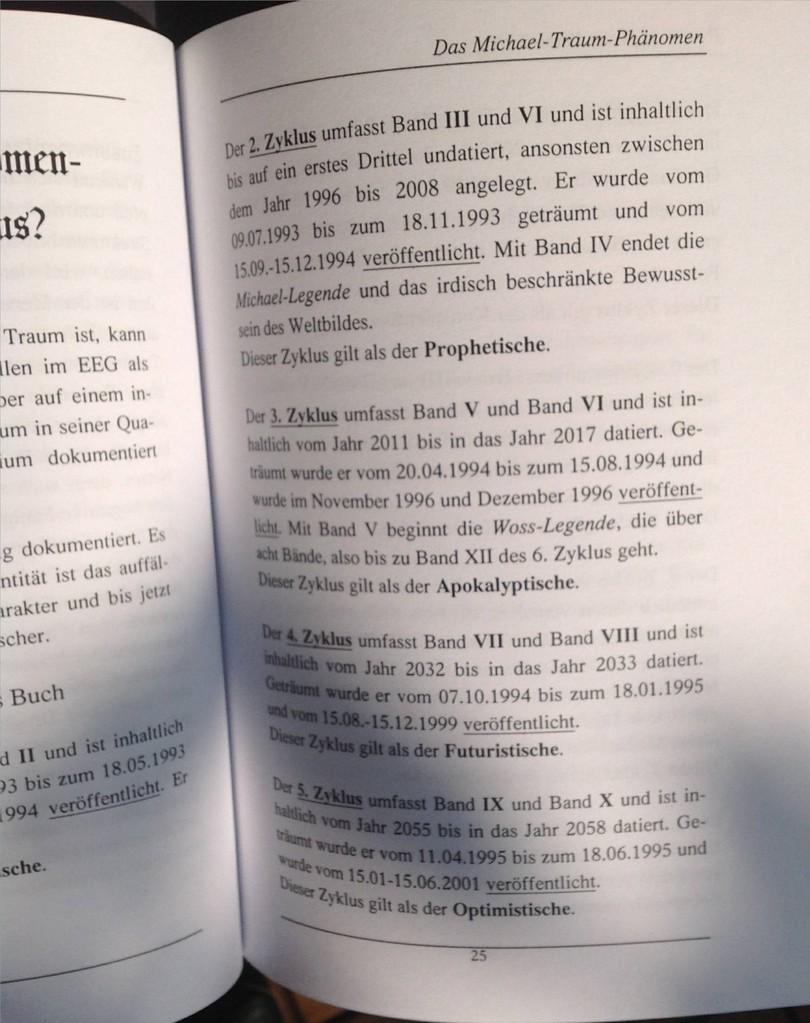 Karin Mettke-Schröder/Das Michael-Traum-Phänomen/Broschürefassung von 2003/Seite 25