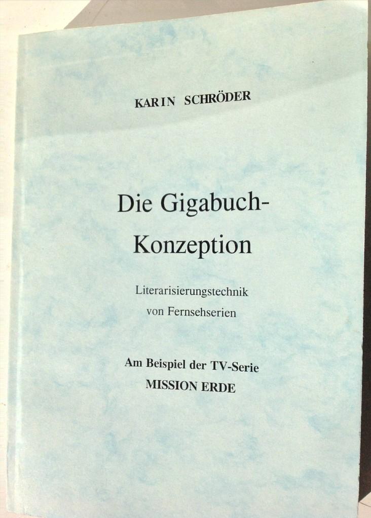 Karin Mettke-Schröder, Petra Mettke/Die Gigabuch-Konzeption/Handbuch 1/2000/Einband