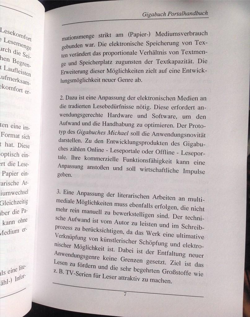 Karin Mettke-Schröder, Petra Mettke/Bau des Gigabuch- Portals/Handbuch 2/2003/Seite 7