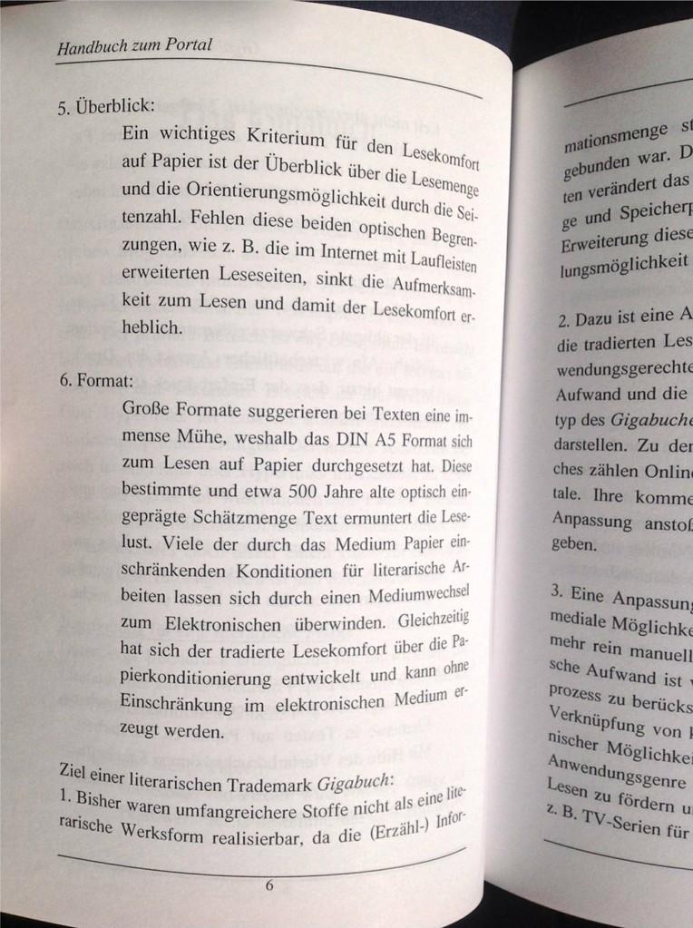 Karin Mettke-Schröder, Petra Mettke/Bau des Gigabuch- Portals/Handbuch 2/2003/Seite 6