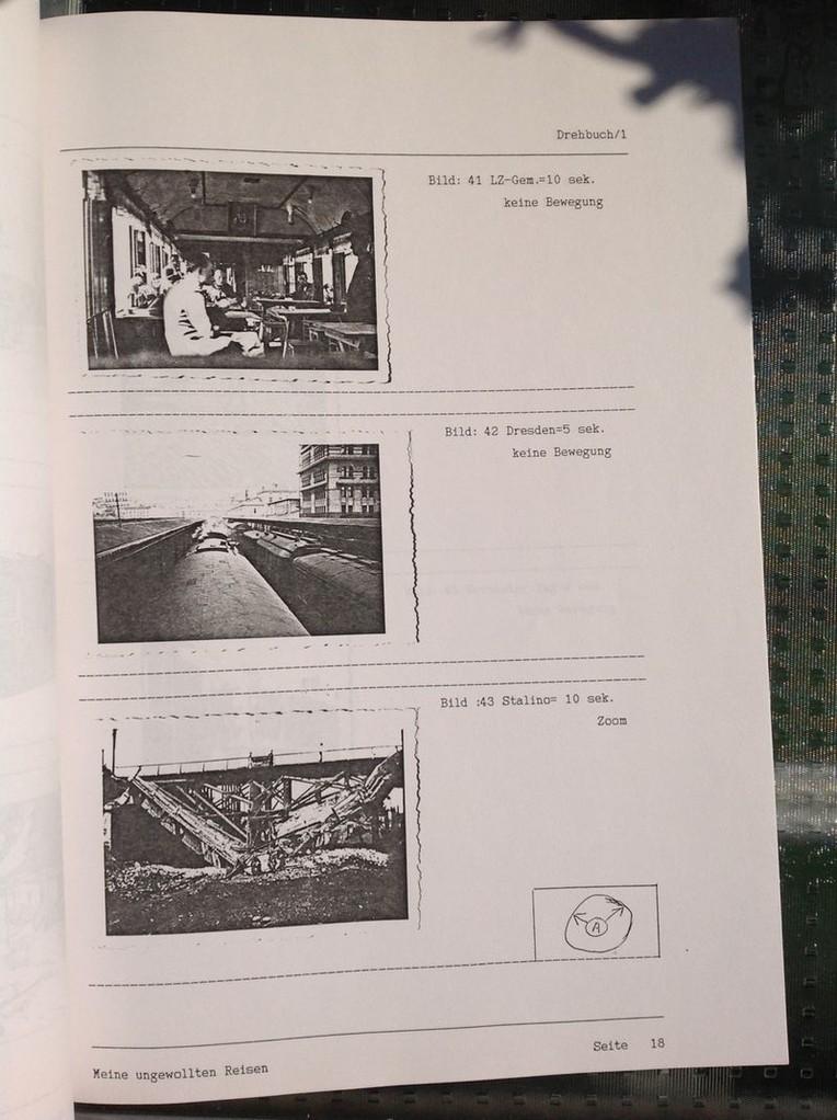 Karin Mettke-Schröder, Petra Mettke/Dokumentarfilmdrehbuchdruck/Paul Krause/Meine ungewollten Reisen/Seite 18