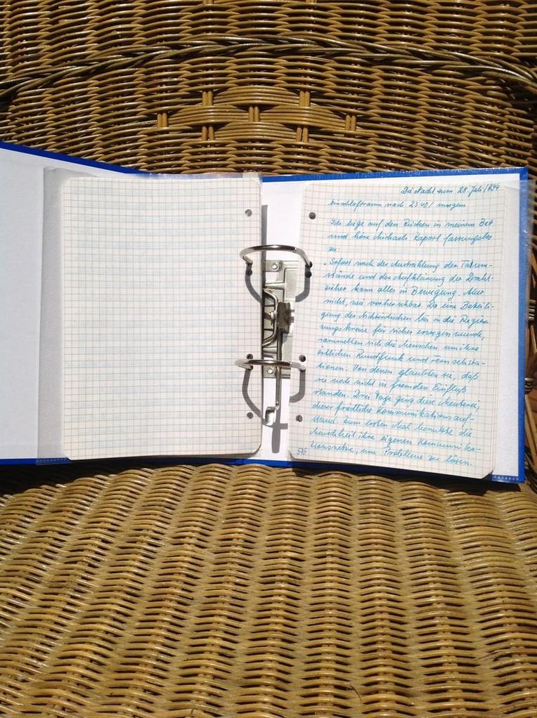 Petra Mettke/Gigabuch Michael 06/Originalordner/1994/Seite 575