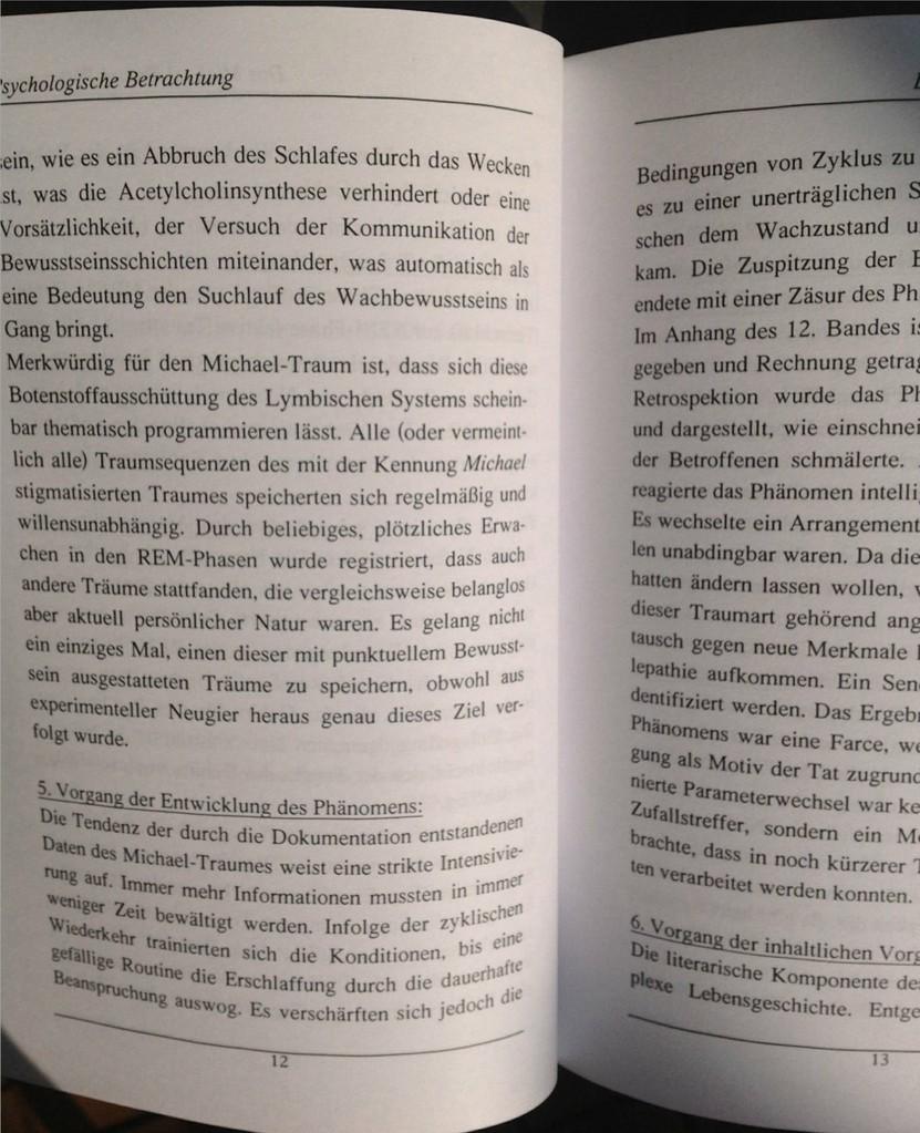 Karin Mettke-Schröder/Das Michael-Traum-Phänomen/Broschürefassung von 2003/Seite 12