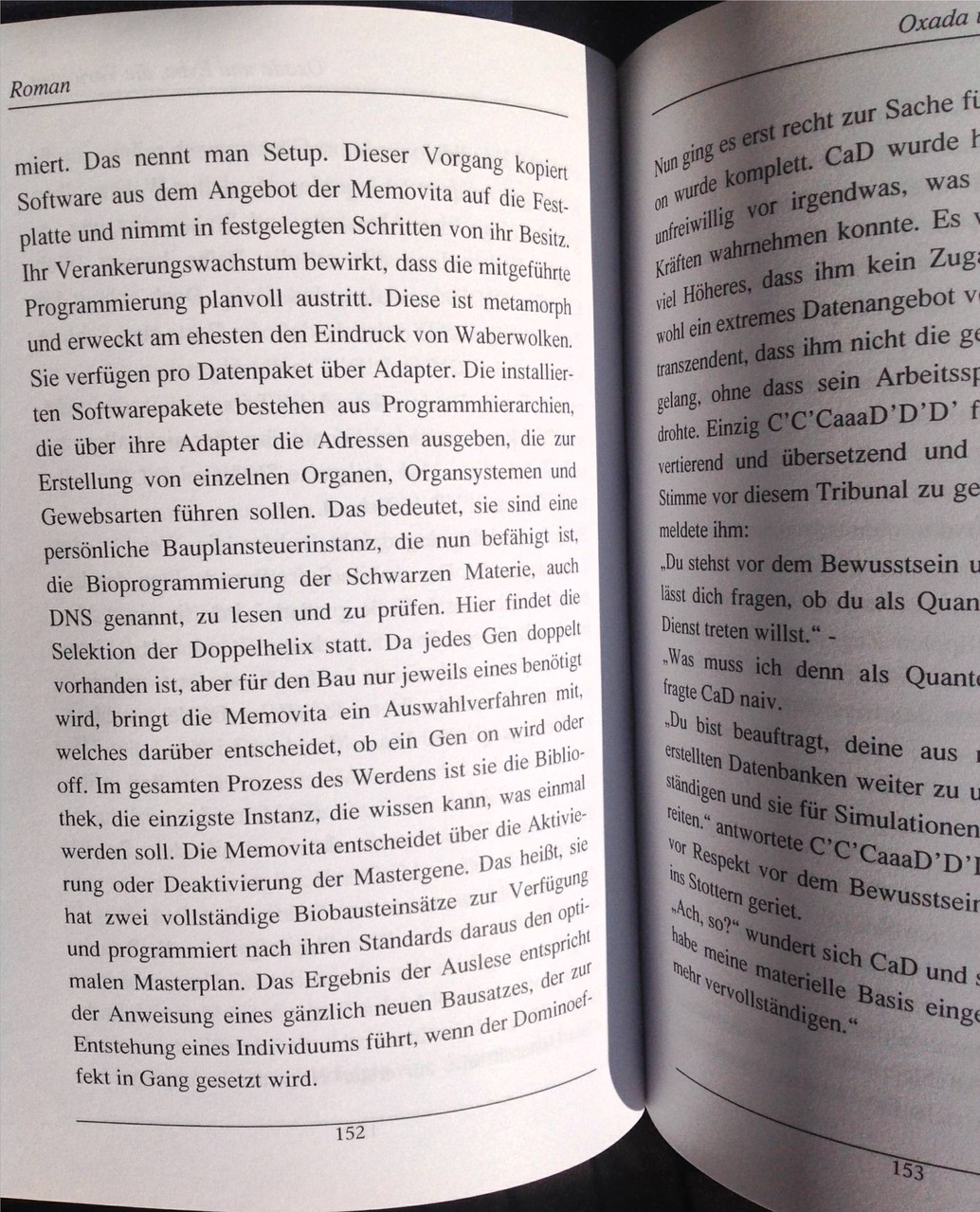 Karin Mettke-Schröder, Petra Mettke/Oxada und Eybo/Roman/Druckskript/2005/Seite 152