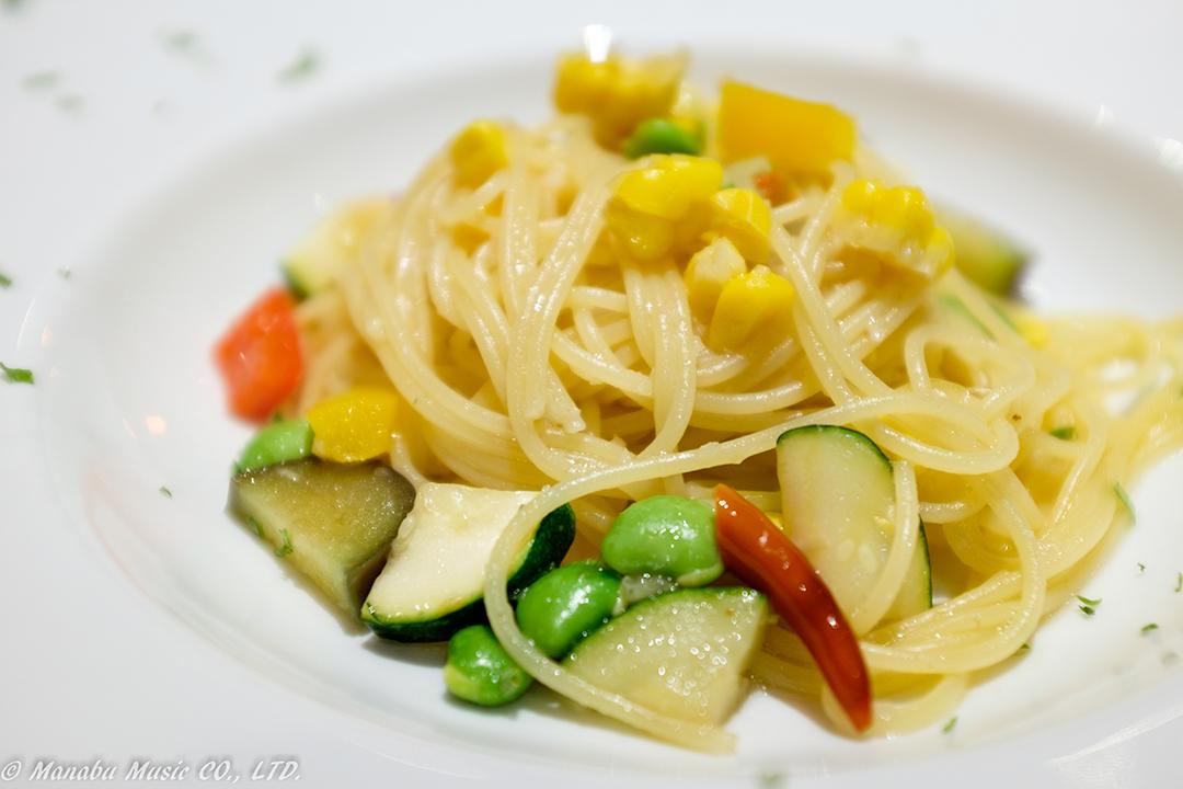 夏野菜のアーリオオーリオ X100T