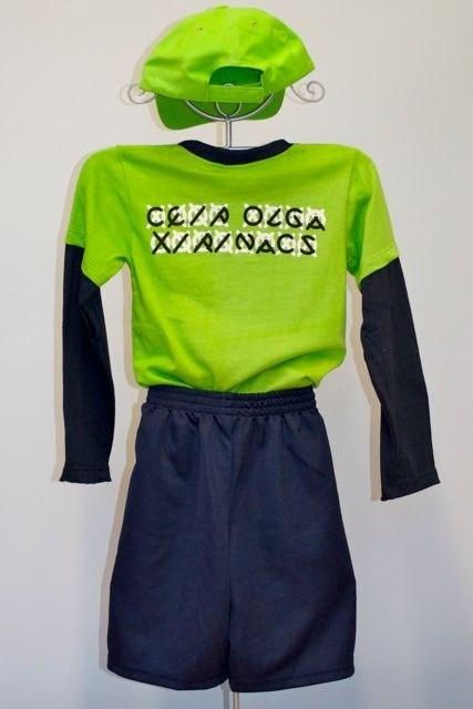 Gorra: 6 € / samarreta m/ll: 8 € / pantaló curt: 9 €