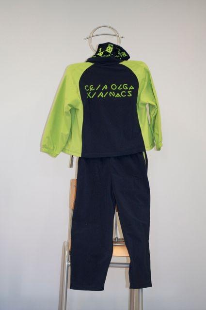 pack esportiu (xandall+samarreta m/c +pantaló curt): 54 € (57 € a partit T8)