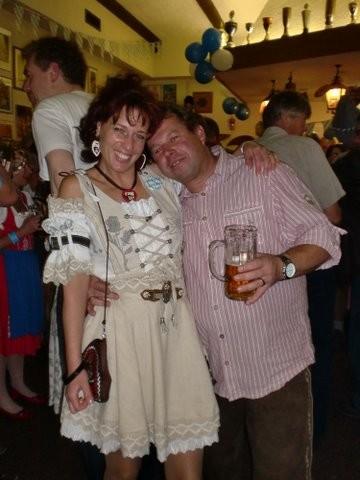 Annette mit Günni
