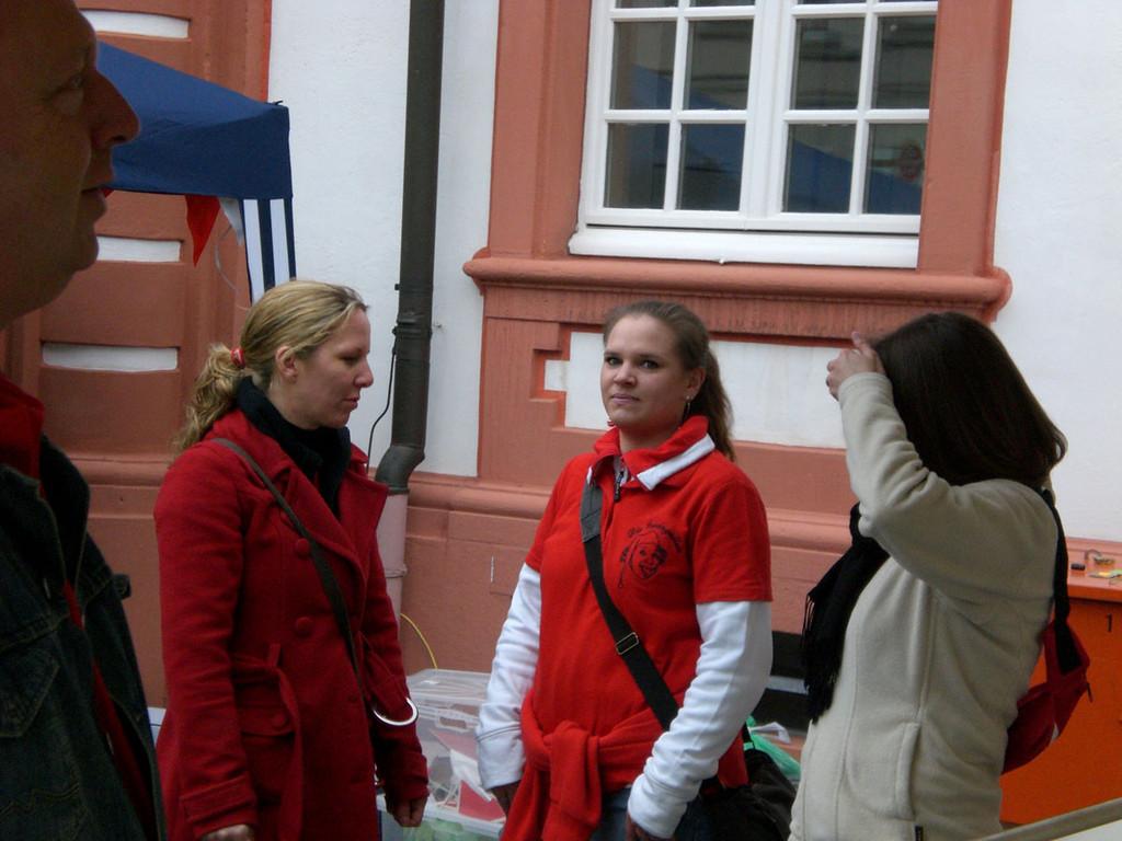 Tanja, Sabrina und Jeannette