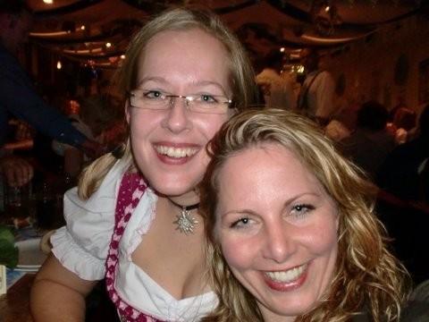 Andrea und Tanja