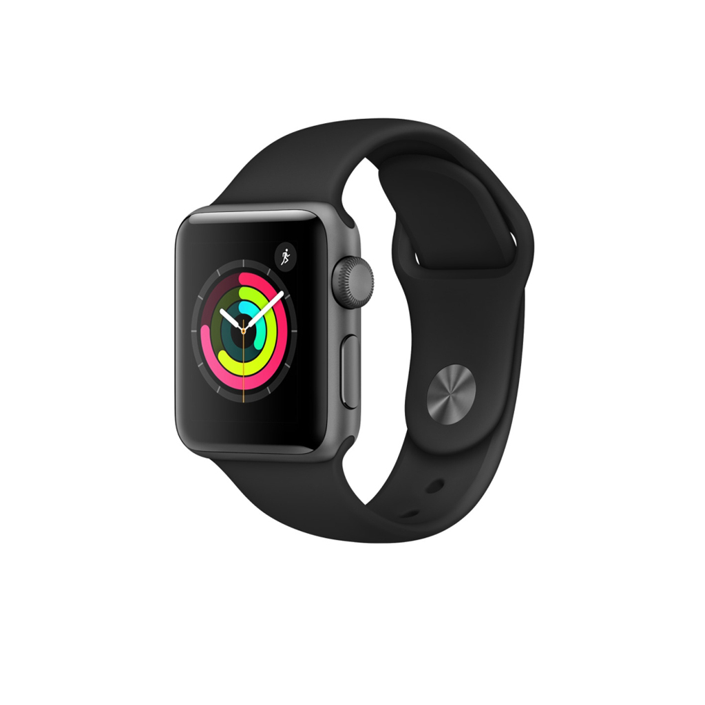 "APPLE Watch Series 3, 38mm Aluminium Gehäuse ""MQKV2ZD/A"""