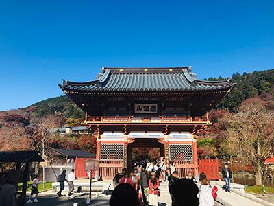 「勝運の寺」として知られる勝尾寺に行ってきました。