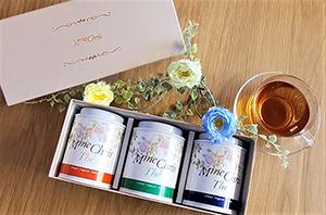 サンモート様プロデュース「紅茶ギフトボックス」のデザイン